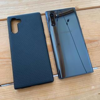 SAMSUNG - Samsung Galaxy Note10 5G Black 12G 256GB