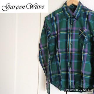ギャルソンウェーブ(Garcon Wave)の【GARSON WAVE】◎極美品◎*ボタンダウンチェックコットンシャツ(シャツ)