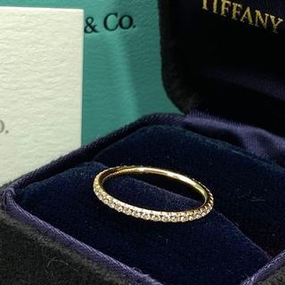 Tiffany & Co. - 未使用 ティファニー ゴールド フル エタニティ ダイヤ リング GC17