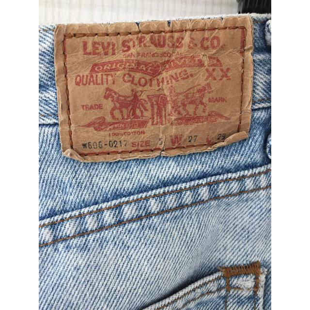 Levi's(リーバイス)のリーバイス606 レディースのパンツ(デニム/ジーンズ)の商品写真