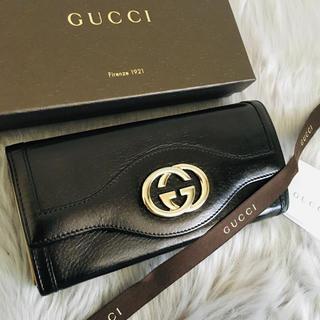 Gucci - 極美品 グッチ 長財布 二つ折り