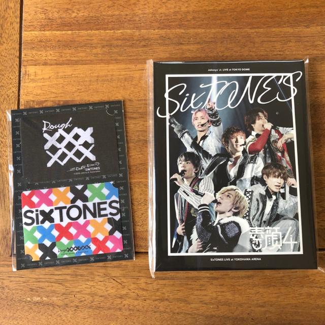 Johnny's(ジャニーズ)の素顔4 SixTONES盤・Rough xxxxxx ステッカー 2点セット エンタメ/ホビーのDVD/ブルーレイ(アイドル)の商品写真
