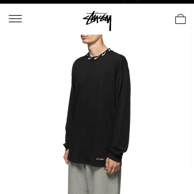 STUSSY(ステューシー)のStussy NIKE U NRG BR LS KNIT TOP L メンズのトップス(Tシャツ/カットソー(七分/長袖))の商品写真