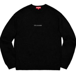 Supreme - 最終価格 supreme Fuck everybody sweater Mサイズ