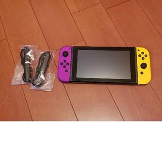 Nintendo Switch - 任天堂 Switch 本体 ジョイコン ストラップのみ 動作確認済 スイッチ