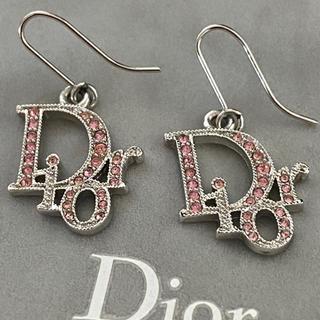 Christian Dior - Dior ラインストーン ピアス