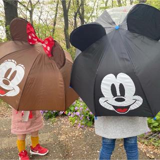 ディズニー(Disney)の新品 正規品 未使用 子供用傘 グラスファイバー骨 傘(傘)