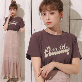 one after another NICE CLAUP - 新品 ナイスクラップ  ロゴアソート Tシャツ ブラウン 半袖 ロゴT お洒落