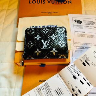 LOUIS VUITTON - 【日本未発売・新作新品】ルイヴィトン モノグラム パイソン ジッピーコインパース