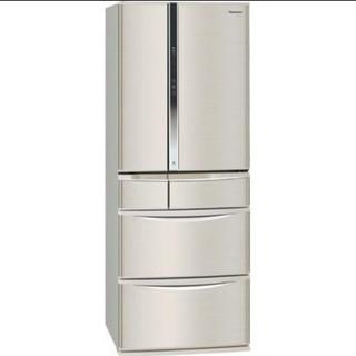 Panasonic - 冷蔵庫 超省エネ 電気代が安い エコナビ 500L 6ドア ナノイー