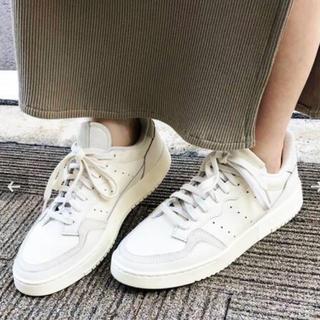IENA - 新品 【adidas / アディダス】別注 SUPERCOURT イエナ
