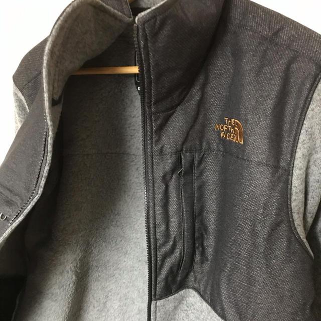 THE NORTH FACE(ザノースフェイス)の新品★海外限定ノースフェイス フリースジャケットM★黒 ブラックバイカラー メンズのジャケット/アウター(ブルゾン)の商品写真