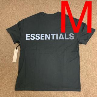 FEAR OF GOD - M Fear Of God Essentials Boxy T-Shirt 黒