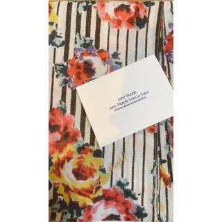 JaneMarple - Jane Marple ローズストライプ柄スカーフ