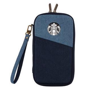 Starbucks Coffee - スターバックス:22周年 デニム パスポートケース 台湾 スタバ