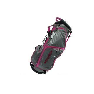 カステルバジャック(CASTELBAJAC)の33403-120 ミラショーン キャディバッグ ゴルフ グレーピンク(バッグ)