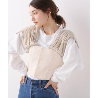Spick and Span - fumie tanaka❤︎gather ribon bustier