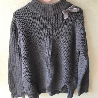プティマイン(petit main)のpetit main  セーター  Lサイズ(ニット)