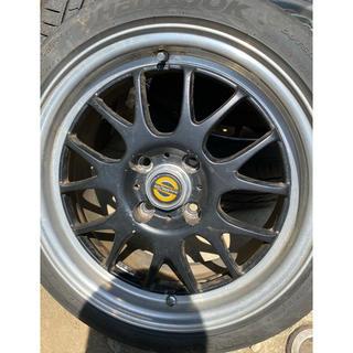 スパルコ レーシング 15インチ ホイール タイヤ付4本セット タイヤバリ溝