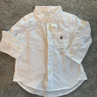babyGAP - babyGAP シャツ 90 白シャツ