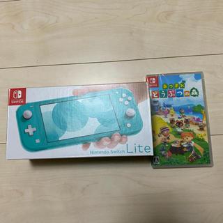Nintendo Switch - 新品 スイッチライト どうぶつの森 セット販売 ターコイズ