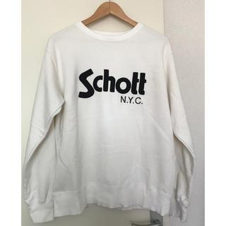 ショット(schott)のSchott ショット ベーシックロゴ クルーネックスウェット(スウェット)