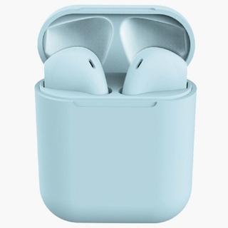 2020年モデル Bluetooth イヤホン ブルー ワイヤレス  マカロン
