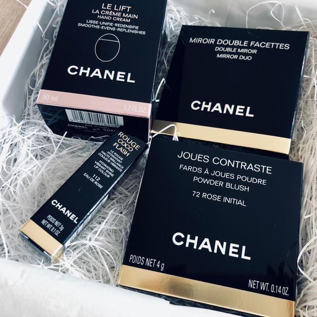 CHANEL(シャネル)の新品☆シャネルギフトセット★CHANEL コスメ/美容のベースメイク/化粧品(その他)の商品写真