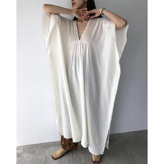 TODAYFUL - (todayful) Pintuck Caftan Dress