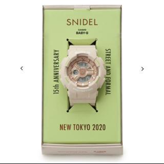 スナイデル(snidel)のSNIDEL babyG ベイビージー(腕時計)