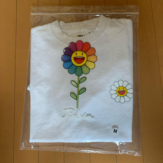 Supreme - 【新品未使用】Jバルヴィン×村上隆 白Tシャツ Mサイズ