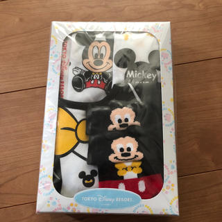 Disney - ディズニー スタイ 靴下 ガーゼハンカチ3枚