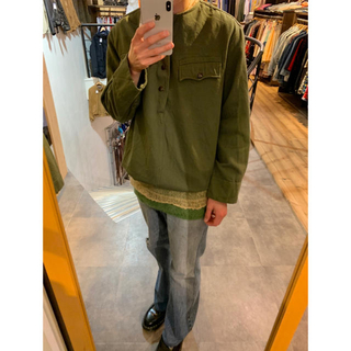 TOGA - 83年製 Bulgaria Army Pullover Shirt