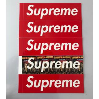 Supreme - ノリエガ&ボックスステッカー