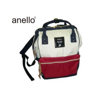 アネロ(anello)のAT-B0197B anello [アネロ] 口金リュックサック トリコロール(リュック/バックパック)