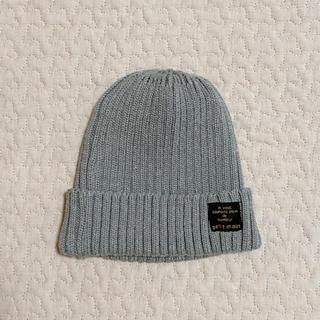 petit main - petit main ワンポイント ベーシックニット帽 グレー プチマイン