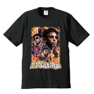 シュプリーム(Supreme)の💥21SAVAGE💥ラップT🎙90's RapTee's💥(Tシャツ/カットソー(半袖/袖なし))