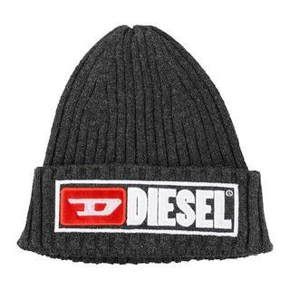 ディーゼル(DIESEL)のDiesel ニット帽 グレー ディーゼル (ニット帽/ビーニー)