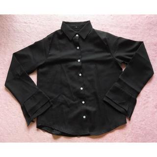 GOGOSING - 韓国ファッション 黒シャツブラウス