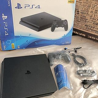 PlayStation4 - プレステ4 プレイステーション ジェットブラック500GB CUH-2200A