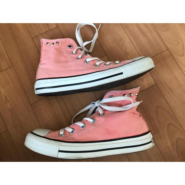 CONVERSE(コンバース)のコンバース オールスター ハイカット スニーカー ピンク レディースの靴/シューズ(スニーカー)の商品写真