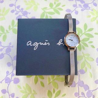 agnes b. - アニエスベー   ①    ソーラー腕時計・稼動品✨