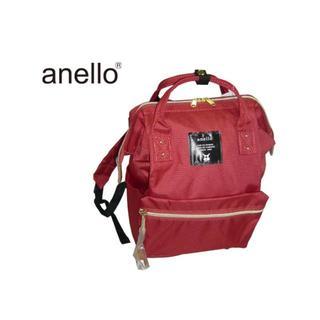 アネロ(anello)のAT-B0197B アネロ 口金 リュックサック ダークオレンジ(リュック/バックパック)