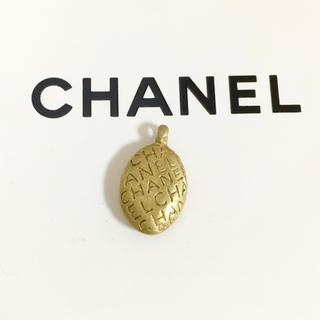 CHANEL - 正規品 シャネル ペンダント ゴールド アルファベット 金 楕円 ネックレス 9