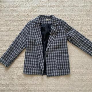 ジャケット 春 韓国 スプリングコート チェック GRL DHOLIC H&M(テーラードジャケット)