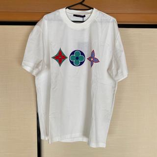 LOUIS VUITTON - ルイヴィトン マルチカラー モノグラム プリンテッド Tシャツ L