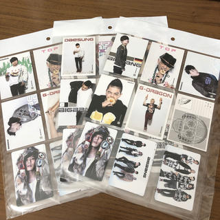 ビッグバン(BIGBANG)のBIGBANG COLLECTION CARD(K-POP/アジア)