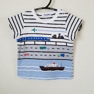 familiar - familiar ファミリア Tシャツ  80 記名