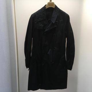 ジルサンダー(Jil Sander)のジルサンダー ナイロン トレンチコート 46 黒(トレンチコート)