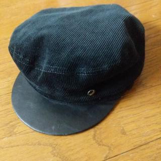 DIESEL - DIESEL ディーゼル 黒キャスケット 帽子 サイズ2